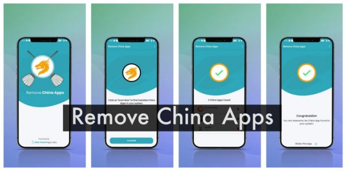 Chinese Apps: Remove all from your Android with One Click